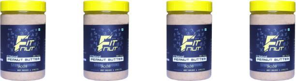 FITNUT Peanut butter Smooth (500G X 4) 2 kg