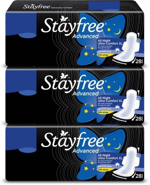 STAYFREE Advance All Night Sanitary Pad