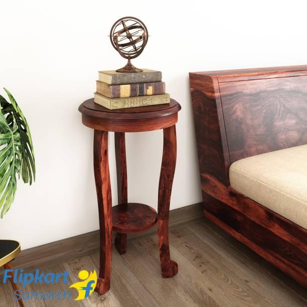 Vintej Home Sheesham Wood Solid Wood Corner Table