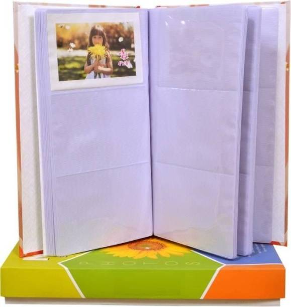 Cute Shopping Network Slip in Plastic Pages High Quality Photo Album With Extra Clear PVC Film, 108 Photos, (Photo Size Supported: 4x6 Inch) Album