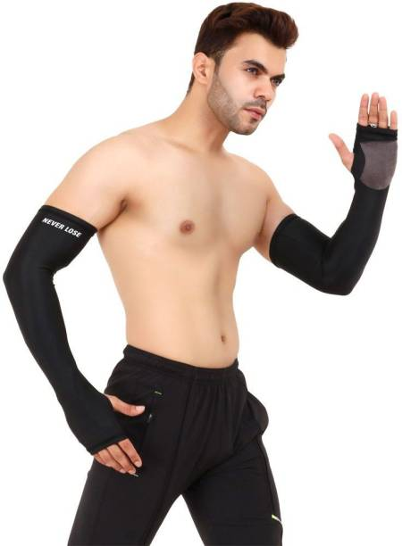 never lose Polyester Arm Sleeve For Men