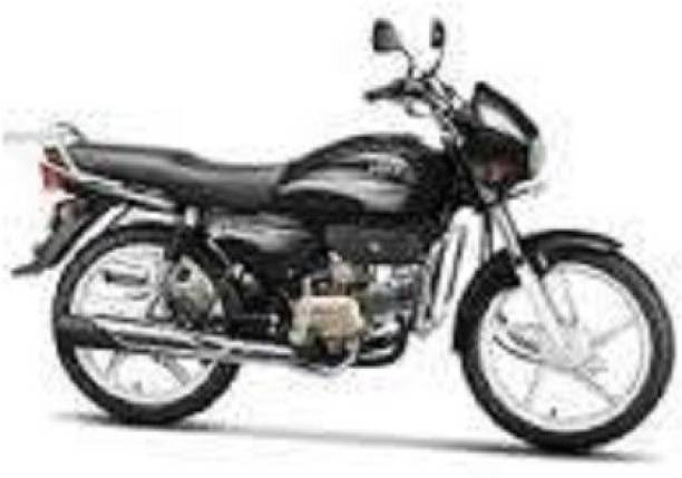 zalak Single Bike Seat Cover Single Bike Seat Cover For HEO SPLENR PLUS Single Bike Seat Cover For Hero Splendor