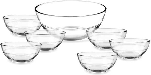 TREO Jelo Pudding Set Glass Dessert Bowl