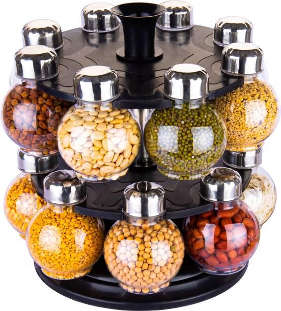 Flipkart SmartBuy Exclusive Air Tight BPA Free Spice Rack Spice Jar Set Of 1 Spice Set