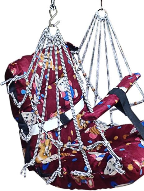 Hemito Baby Swing hanging Jhula up to 15KG Cotton Small Swing