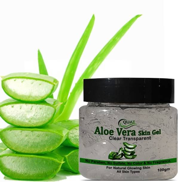 QUAT Natural Aloe Vera Gel 92%Moisturizer Gel Cream Acne Blackheads Treatment For Skin Repair Shrink Pores Sleep Mask SkinCare