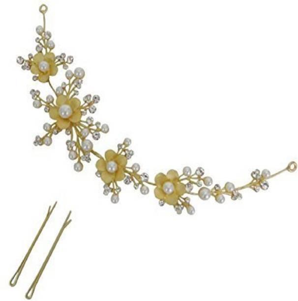 HNB23 Party Bridal Fancy Hair Clip Headband Hair Accessories Tiara Hair Chain