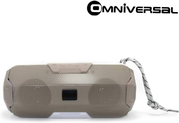 Omniversal TG006 rending Woofer Dual Horn Dj Power boost High Bass With Part Light Design Compatible Device Mobile/Laptop/Computer/Table SD Card & Aux Supported 10 W Bluetooth Speaker 125 W Bluetooth Speaker