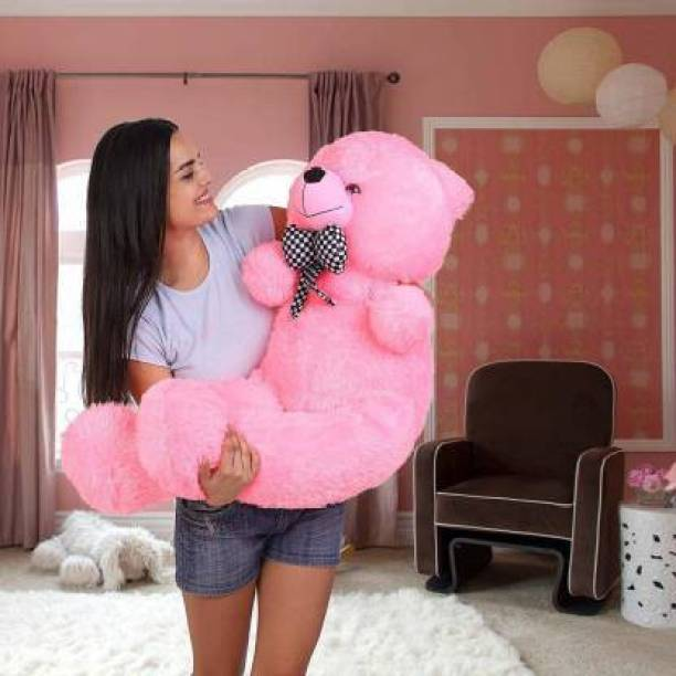 Ziraat New Pink teddy bear 3 feet for gift  - 91.11 cm