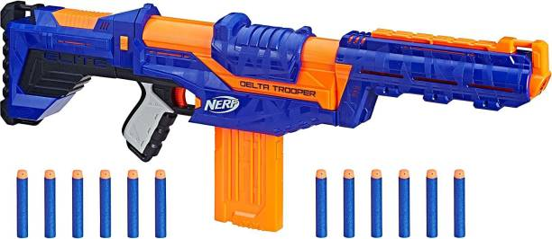 Nerf Delta Trooper Combat Blaster Guns & Darts