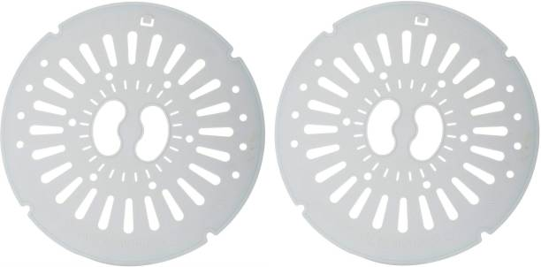 Shree Shringar Fashion Set of 2 Spin Cap Cover Spinner Dryer Safety Cap Compatible/Replaceable For Top Load Semi Automatic Washing Machine (Diameter: 25cm) Washing Machine Net