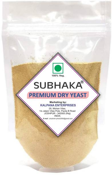SUBHAKA Bakers Yeast- Instant Yeast- Active Dry Yeast (Khameer Powder) Yeast Powder