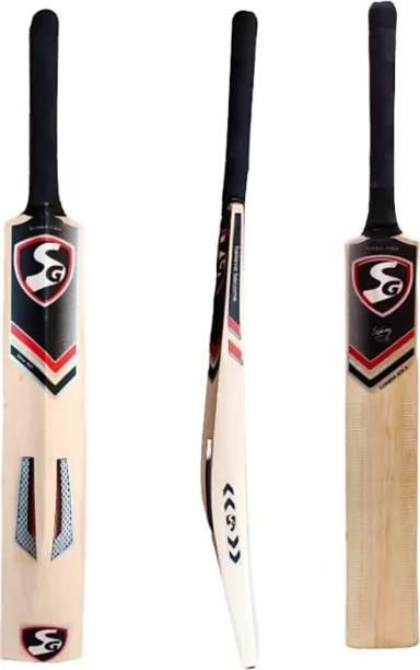 SG Kashmiri SG Cobra Gold Max Cover Bat with Cover Kashmir Willow Cricket Bat (900-1050 g) Kashmir Willow Cricket  Bat
