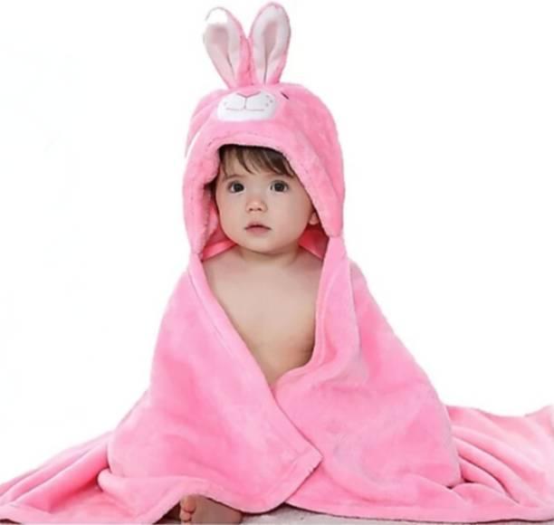 BRANDONN BABY PINK Free Size Bath Robe