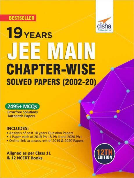 19 Years Jee Main Chapter-Wise Solved Papers (2002 - 20)
