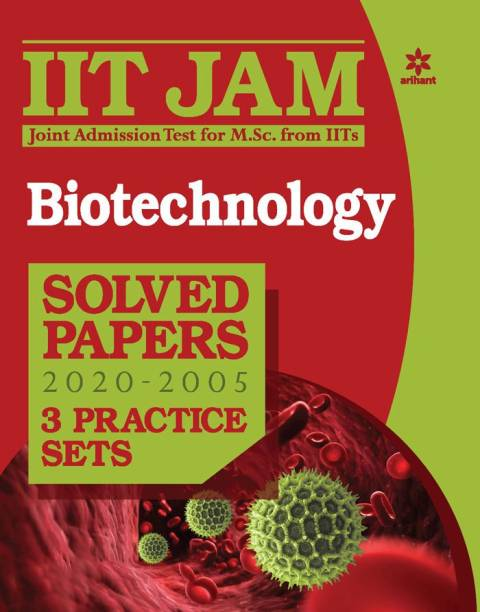 Iit Jam Biotechnology Solved Papers and Practice Sets 2021