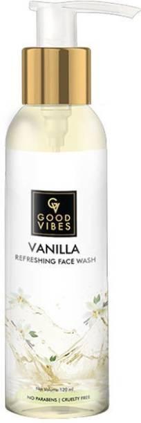 GOOD VIBES Refreshing  - Vanilla Face Wash