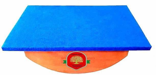 Narayani physio Balance Board Blue Occupational Therapy For Balance Board Foot Leg Exerciser Rocker Board Fitness Balance Board