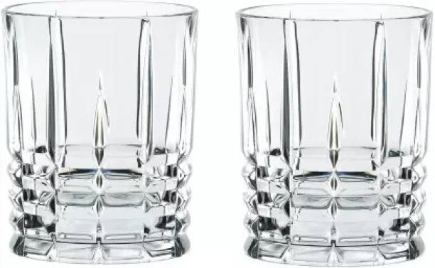 RK ONLINE SALES (Pack of 2) Pack of 2) Highland Crystal Straight 02 Glass Set (310 ml, Glass) Glass