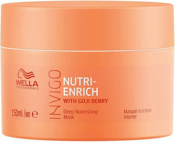 Wella Professionals Invigo Nutri-Enrich Mask, Deep Nourishing & Moisturizing Mask