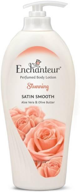 Enchanteur Aloe Vera & Olive Butter Stunning Perfumed Body Lotion