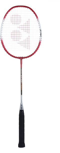 YONEX ZR 100 Light Red, Silver Strung Badminton Racquet