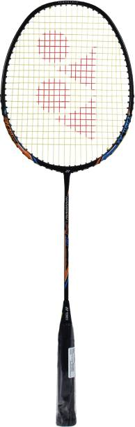 Yonex Nanoray Light 18i Black Strung Badminton Racquet  (Weight: 77 g, Tension: 30 lbs)