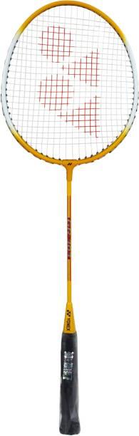 YONEX GR 303 F Yellow Strung Badminton Racquet