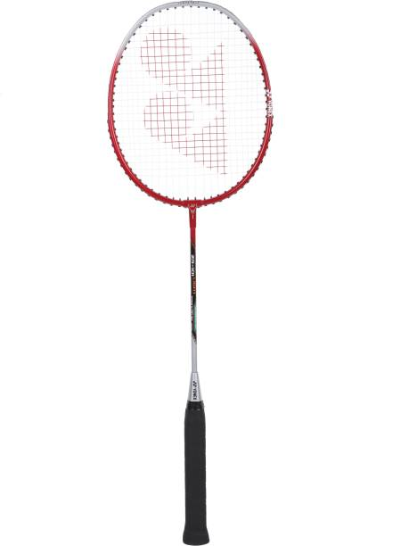 YONEX ZR101 Light Red Strung Badminton Racquet