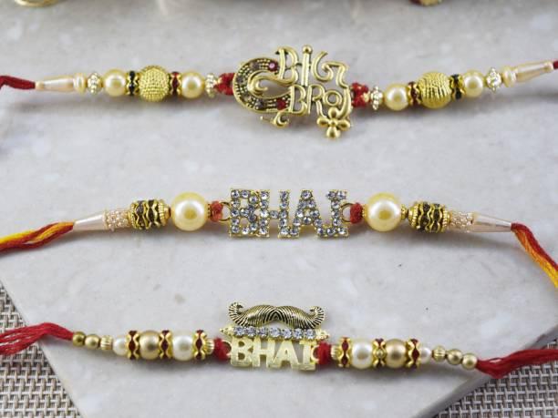 GW Creations Thread Rakhi  Set