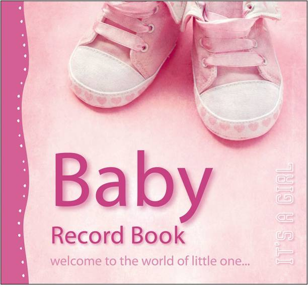 Baby Record Book, It's A Girl | By Sawan