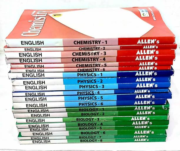 ALLEN INSITUTE Allen Study Material For NEET/AIIMS 11th & 12th Package Product Bundle – 1 January 2020