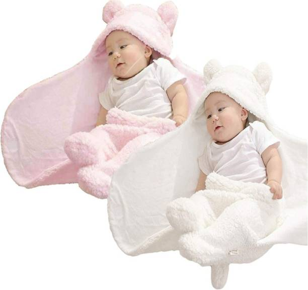 BRANDONN All Season Premium Supersoft New born hooded Sleeping Bag Sleeping Bag
