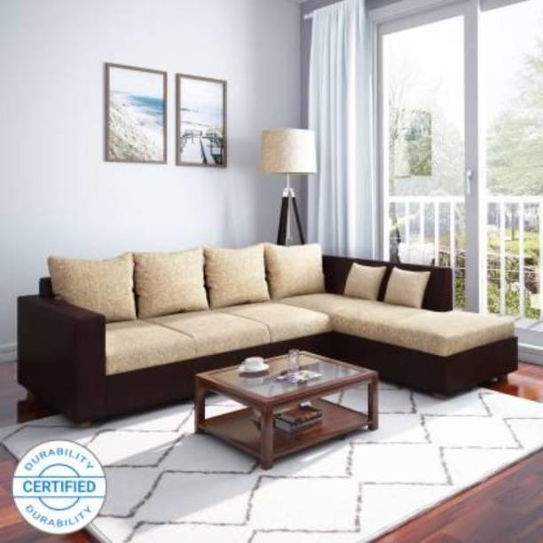 WESTIDO Ikea Leatherette 6 Seater  Sofa