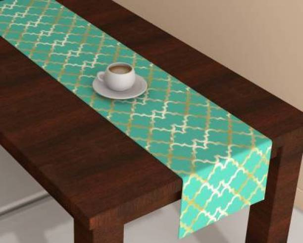 Countingbeds Green 150 cm Table Runner