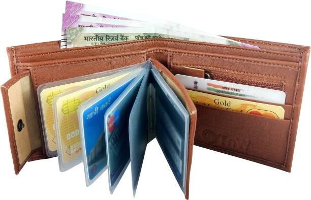 TnW Men Casual, Formal Tan Artificial Leather Wallet