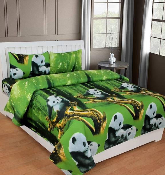 SPSON'S HANDLOOM 140 TC Polycotton Double Paisley Bedsheet