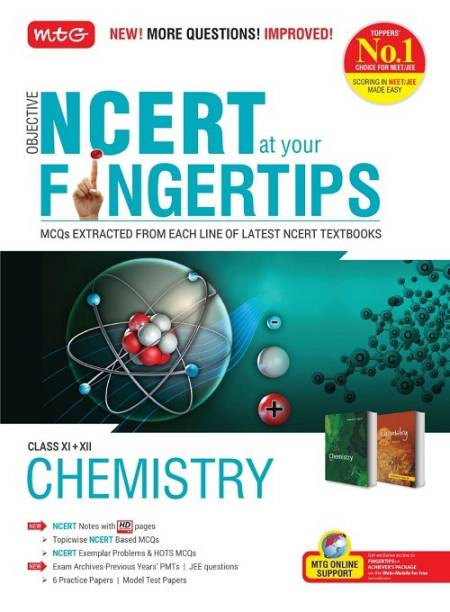 Objective Ncert at Your Fingertips for class XI+XII - Chemistry