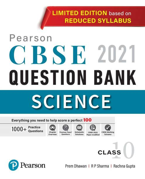 CBSE Revised Syllabus|Science Question Bank for Class 10|2021 | By Pearson