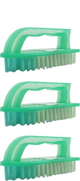 Harshpet Cloth Brush Set 3 Polypropylene Wet and Dry Brush