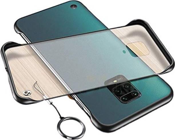 Mobikit Back Cover for Poco M2 Pro, Redmi Note 9 Pro, Redmi Note 9 Pro Max, Frameless Cover Translucent Matte Hard PC Case