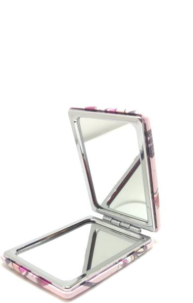 ClueSteps Printed Paris Mirror Pocket Folding Dual Side