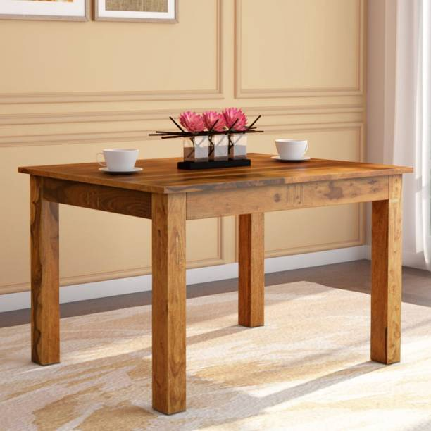 Kendalwood Furniture Solid Wood 4 Seater Dining Table
