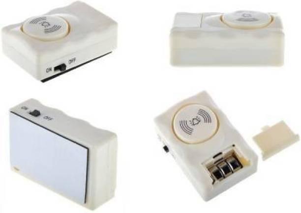 MASX Anti Theft System For Home Office - High 105 Decibel Door & Window Door Window Alarm with Wireless Door Window Security Burglar Sensor Alarm With Magnetic Sensor Door & Window Door Window Alarm