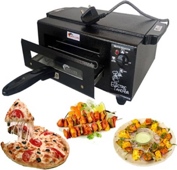 HOT LIFE Upper lower high quality 1500W regulator System Steel Element Home & kitchen medium Family Pack Electric tandoor comboo free with full accessories Electric Tandoor