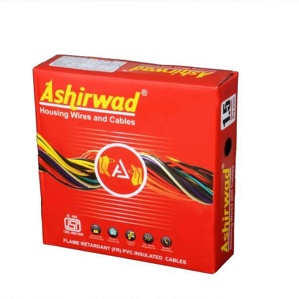 ashirwad FR PVC 1.5 sq/mm Red, Yellow, Black, White, Blue 90 m Wire
