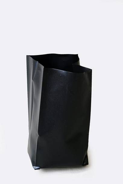 HIGHNET NurseryCover Black - 6 X 8 Inch Small Size with quantity of 10 Bags Grow Bag