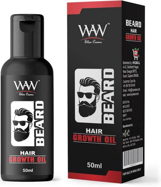 Waw skin cosmo Beard Hair Growth Oil Hair Oil