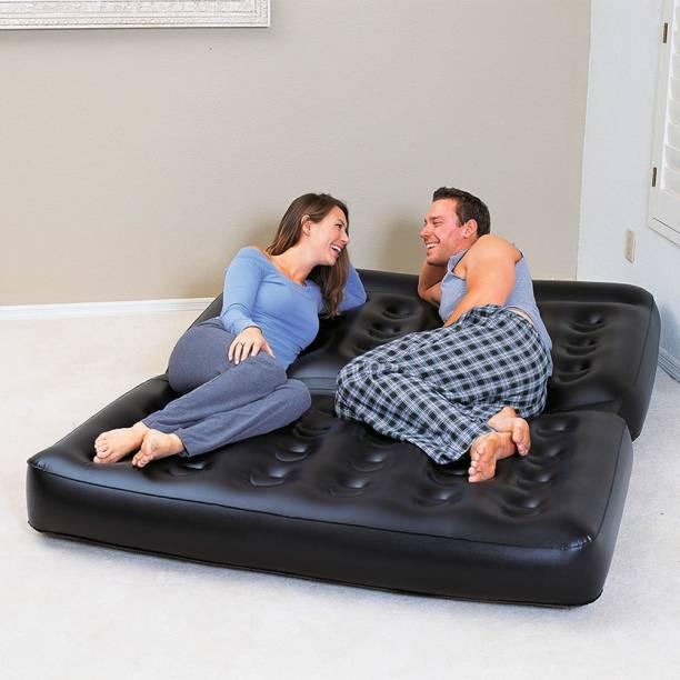 Karmax (Glossy) PVC 3 Seater Inflatable Sofa