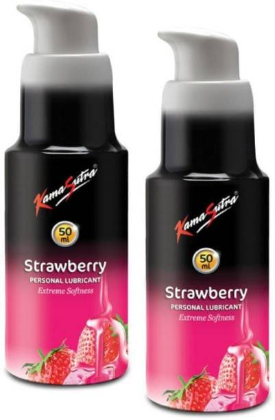 Kamasutra Strawberry Flavor Lubricant Lubricant